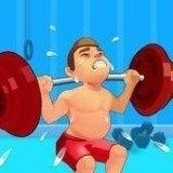 健身房肌肉模拟