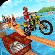 现代自行车水上挑战赛