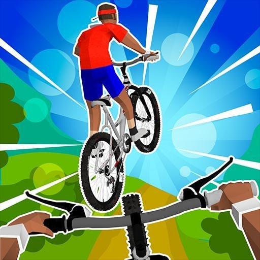 不可能的自行车特技