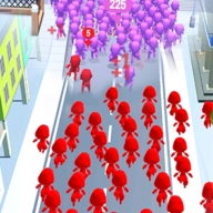 人群追随战争之城手游